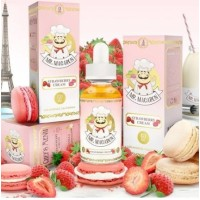 60 ml Milas Macarons - Strawberry Cream