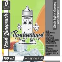 100 ml Fresh Limepeach von Flaschendunst