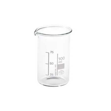 Becherglas aus Brosilicatglas 100 ML