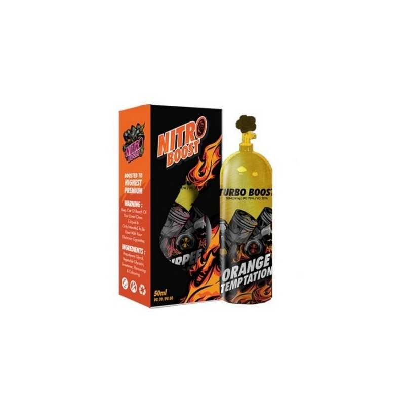 50 ml Orange Temptation - Turbo Nitro Boost E-Liquid Malaysia
