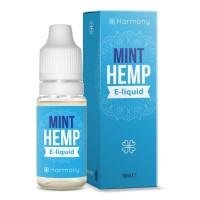 10 ml Hemp Mint CBD Liquid von Meetharmony vers. Stärken