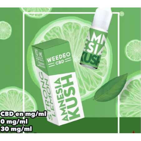 10 ml Amnesia Kush CBD von Liquideo 30mg