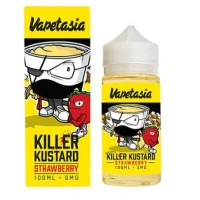 Vapetasia - strawberry custard killer