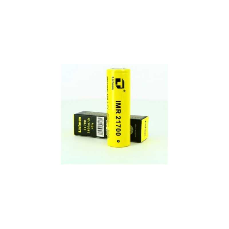 Listman 21700 Li-Ion Akku 3,6V - 3,7V 3800mAh 40A