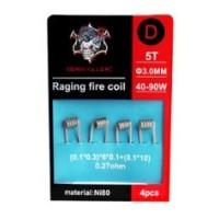 4x Raging Fire Coil N80 D 0.27ohms - Demon Killer