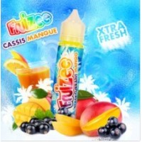 50ml Cassis Mangue 0mg by Fruizee