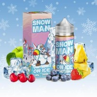 100 ml Snow Man Juice Man's Gourmet USA Liquid