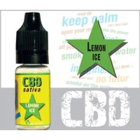 10 ml lemon ice CBD 300mg von Vap'fusion
