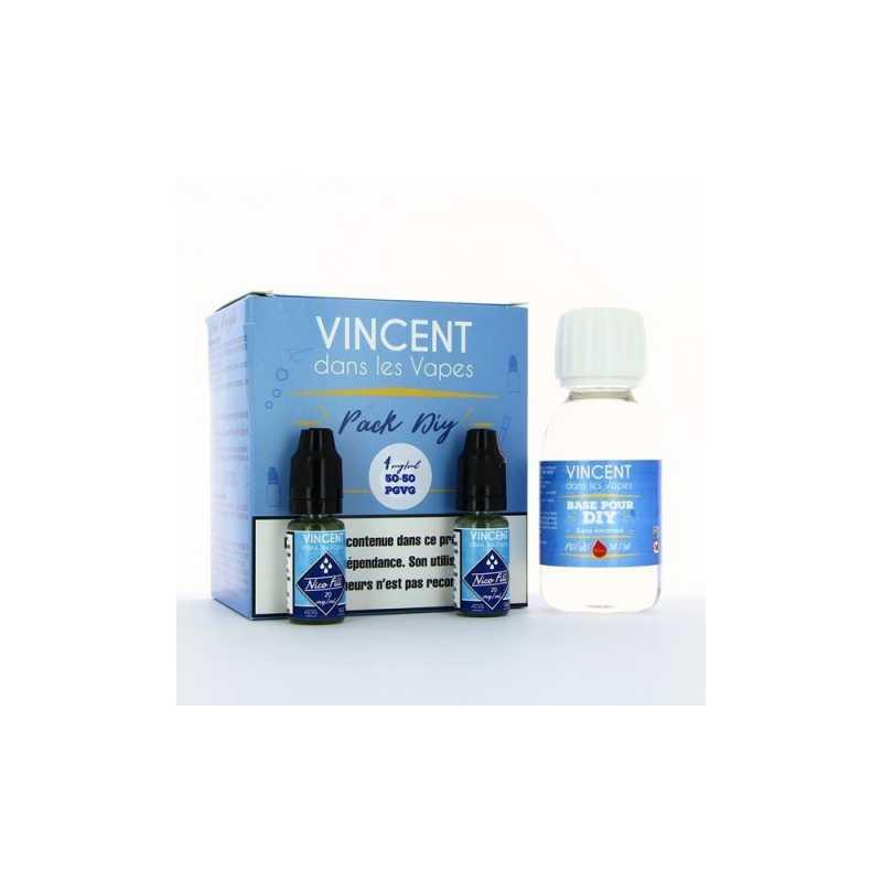 100 ml DIY Nikotin Base (50/50) TPD2 ready Basis von VDLV