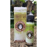50 ml Caramel - Green Tea Flamingo (Mix & Vape)