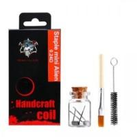 2x Handcraft NI80 coil Staple mini Alien 0.24ohm - Demon Killer