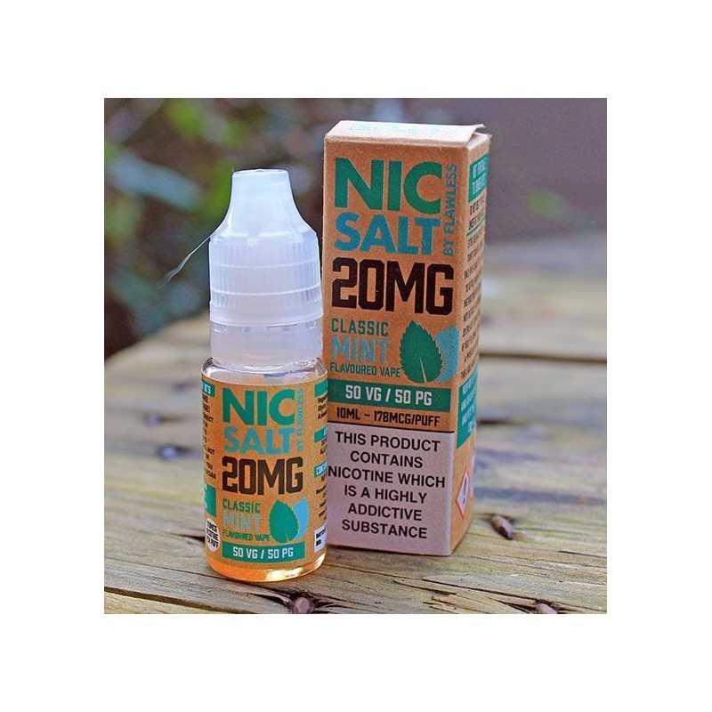 Nic Salt - Classic Mint 20mg 10ml - Nikotinsalz-