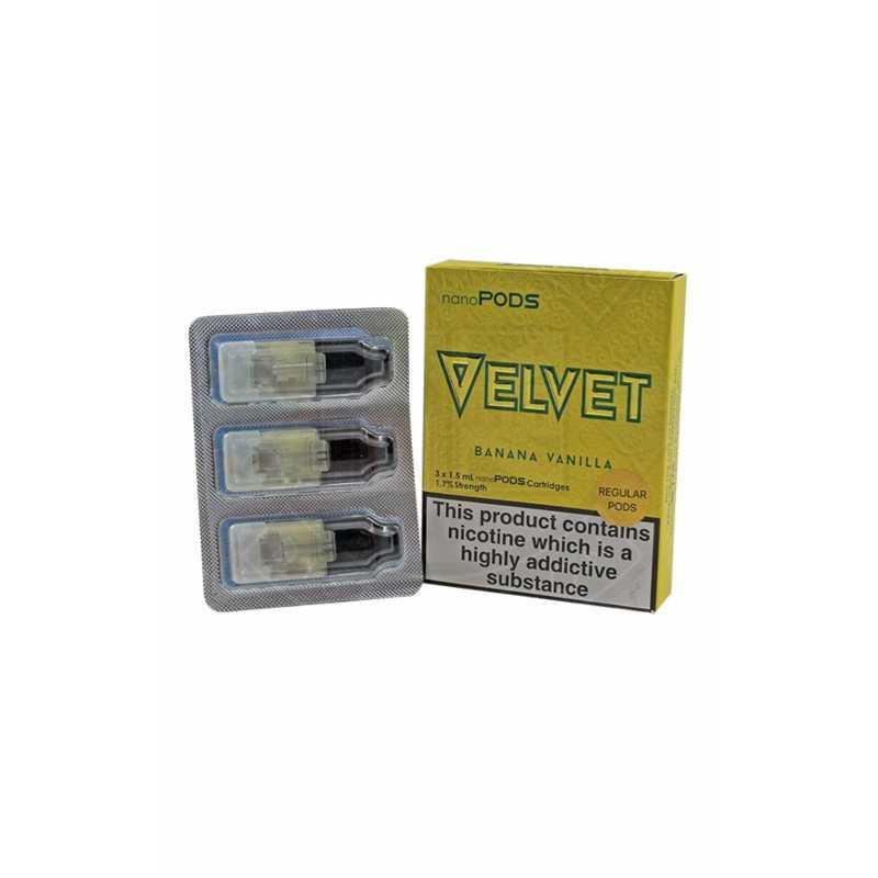 Velvet Banana Vanilla NanoPods 3 x 1.5ml 1.7%