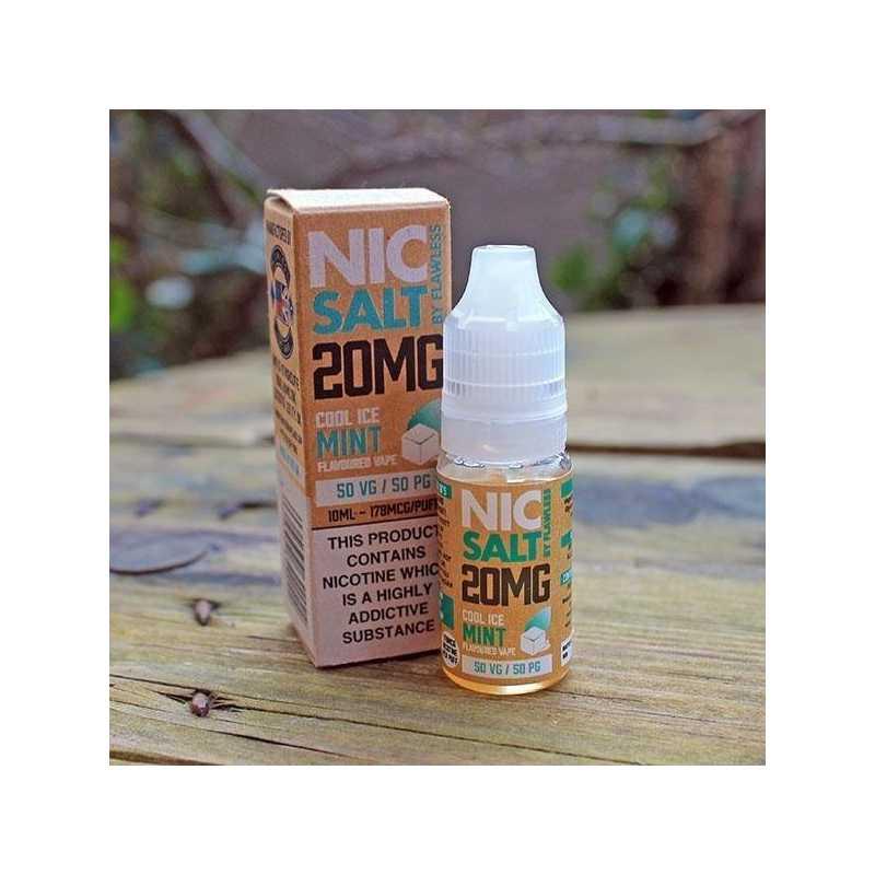 10 ml Nic Salt - Cool ICE Mint 20mg  - Nikotinsalz-