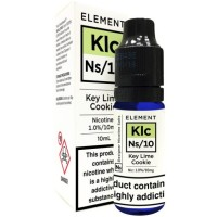 Key Lime Cookie 10ml Nic Salts by Element 20mg