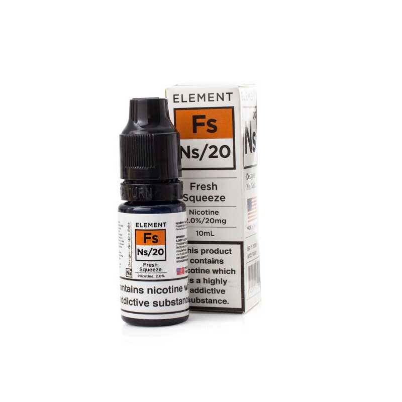 Fresh Squeeze 10ml Nic Salts by Element 20mg