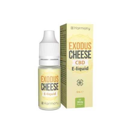 10 ml Exodus Cheese CBD Liquid von Meetharmony vers. Stärken