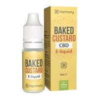 10 ml Baked Custard CBD Liquid von Meetharmony vers. Stärken