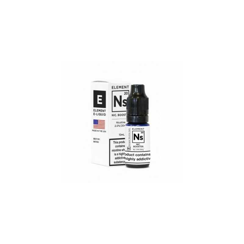 10 ml Salt Booster Element 65/350 von Element NS20 20mg Salt (Nikotinsalz)