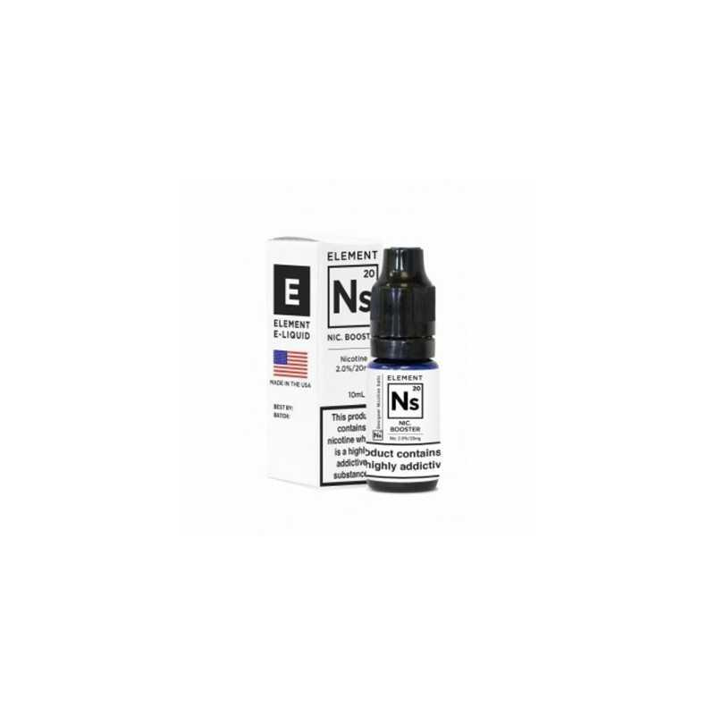 10 ml Salt Booster Element 65/350 von Element NS20 20mg Salt (Nikotinsalz)