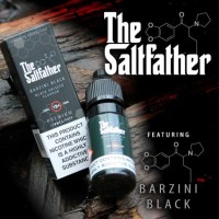 The Saltfather barzini black 20mg (Salt) 10ml E-liquid