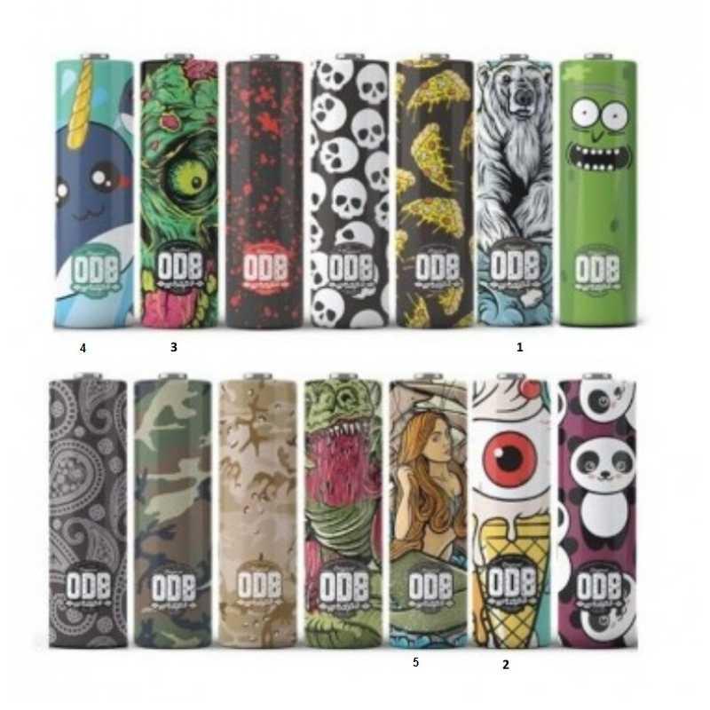 Schrumpfschlauch 20700 / 21700 Batterien von ODB