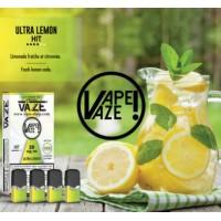 Vaze Ultra Lemon- 4 Pack TPD2 20mg