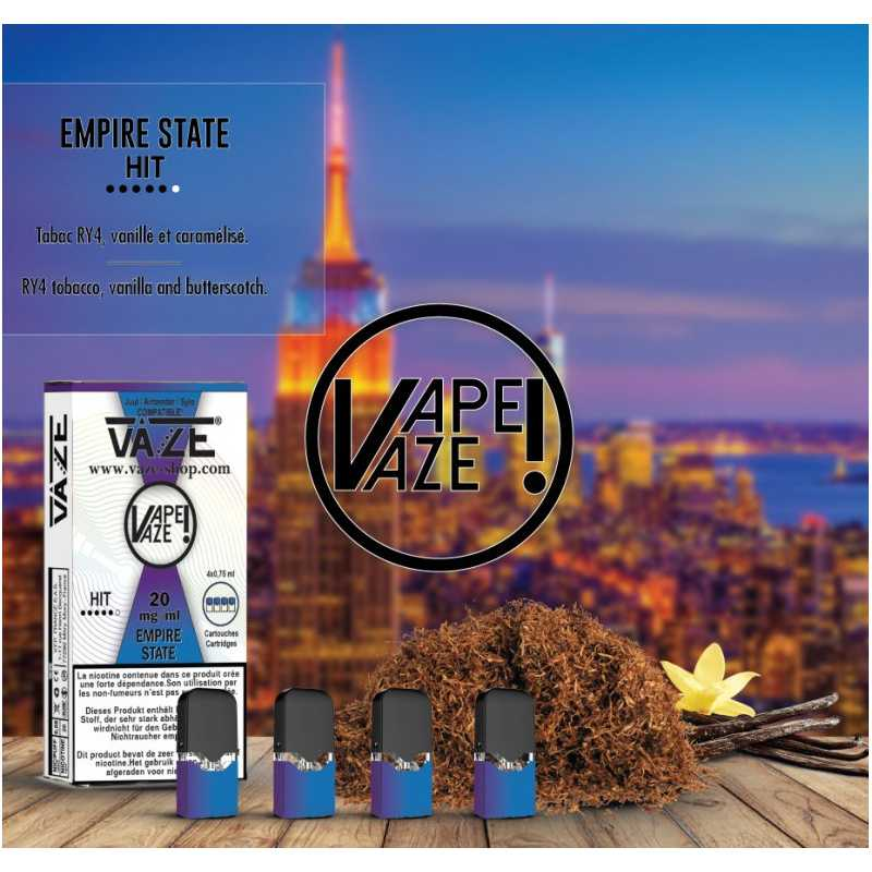 Vaze - Empire State - 4 Pack Pods TPD2 20mg
