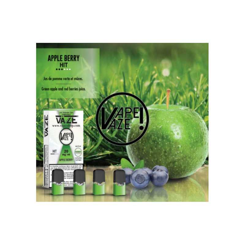 Vaze - apple berry - 4 Pack Pods TPD2 20mg