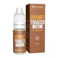 10 ml Gourmet Tobacco CBD Liquid von Meetharmony vers. Stärken