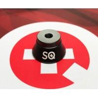 SQ Verdampfer Sockel schwarz eloxiert