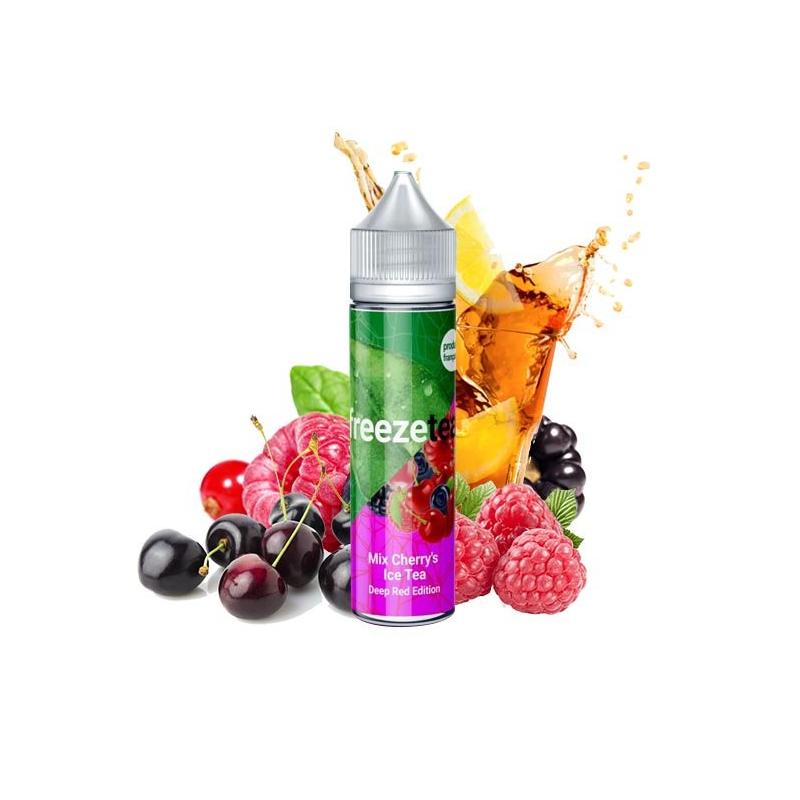 50 ml Mix Cherry's Ice Tea Deep Red Edition - Freeze Tea by Freeze Tea FR