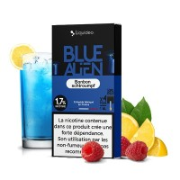 4x Blue Alien Pods - Nikotin Salz Pods TPD2 20mg von Liquido