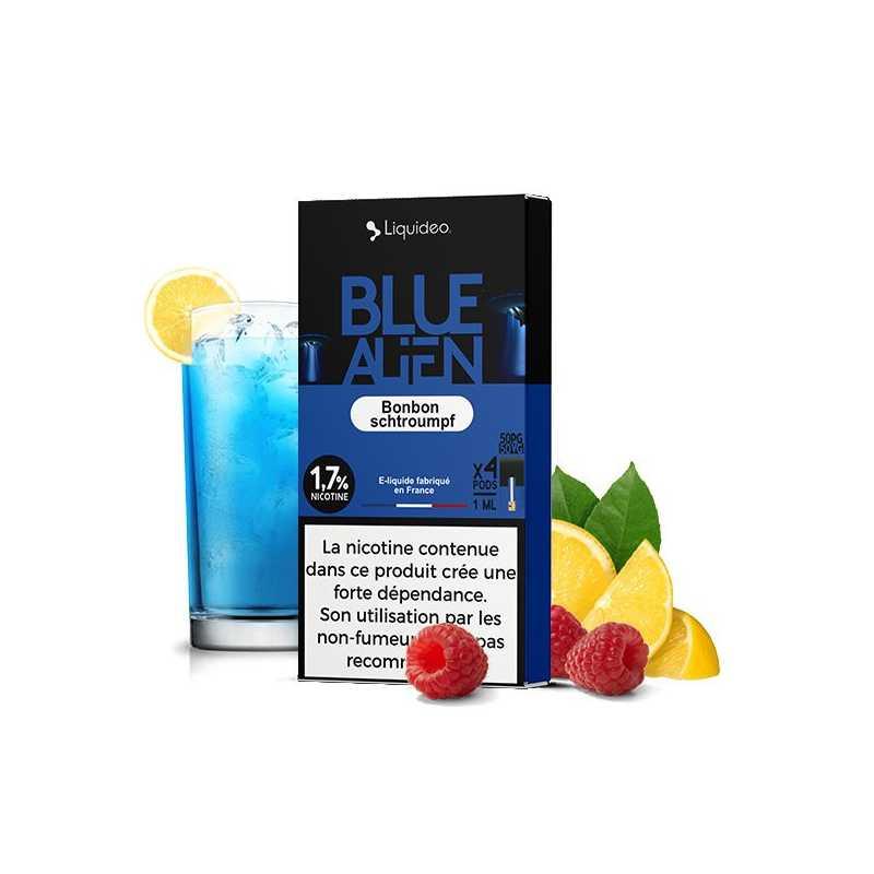 4x Blue Alien Pods - Nikotin Salz 20mg von Liquido