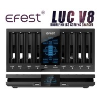Efest LUC V8 Ladegerät für Li-Ionen Akkus
