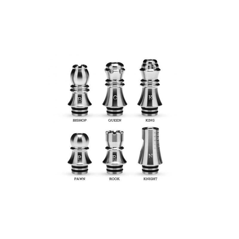 6x Kizoku Chess 510 Drip Tip Series