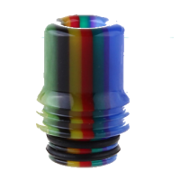 Drip Tip 510 AOLVAPE Rainbow/Farbig 17 mm