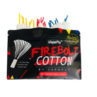 Firebolt Cotton - Vapefly -Easy to Wick- Wickelwatte mit Stab (20/21 Stück)