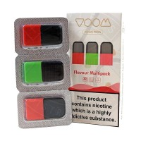Voom Pod Salts - Flavour Multi-Pack (Fruits) 20 MG