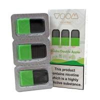 Voom Pod Salts - Shisha Doppel Apfel 20 MG (3-er Pack)