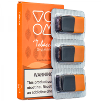 Voom Pod Salts - Tobacco 20 MG (3-er Pack)