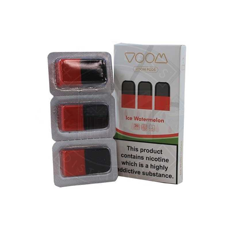 Voom Pod Salts - ICE Watermelon 20 MG (3-er Pack)