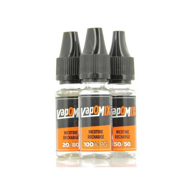 10 ml Booster Vapomix 20mg Nikotin shot (vers. PG/VG)