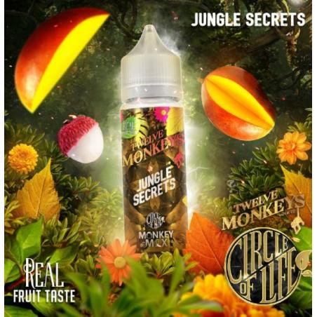 Jungle Secret Monkey Mix 50ML -Twelve Monkeys