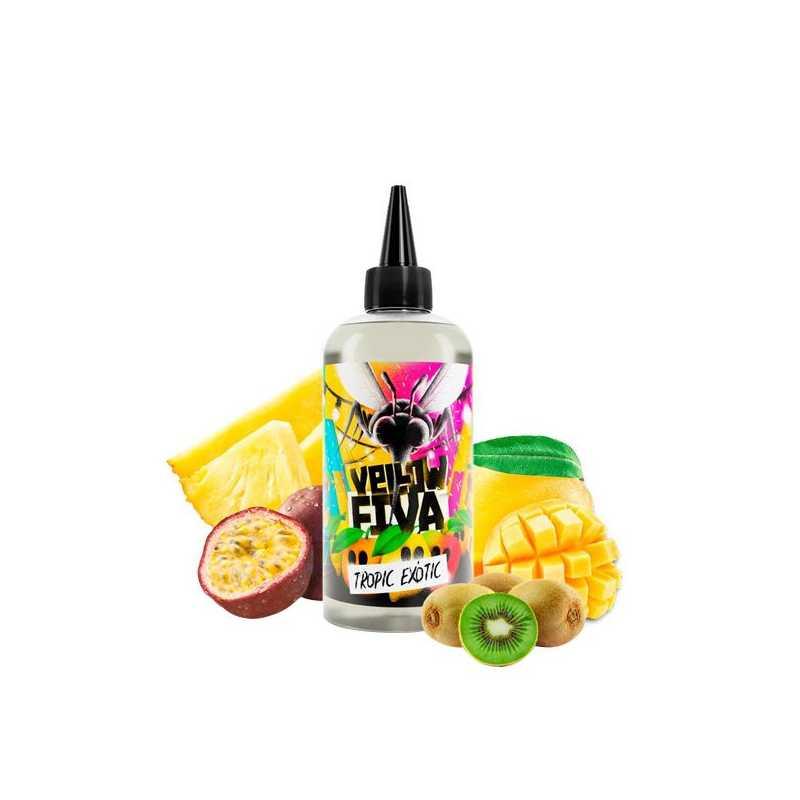 Tropic Exotic Yellow Fiva 200ml Shortfill Liquid by Joe's Juice