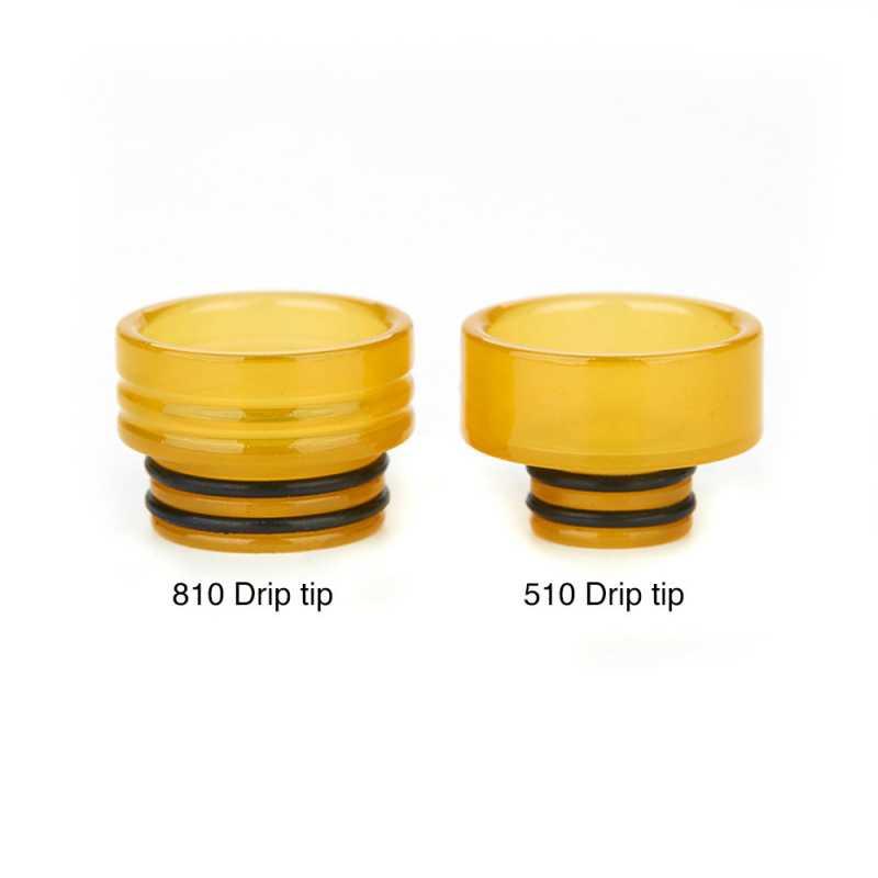 Adapter PEI 810 auf 510er Drip Tip Aufsatz