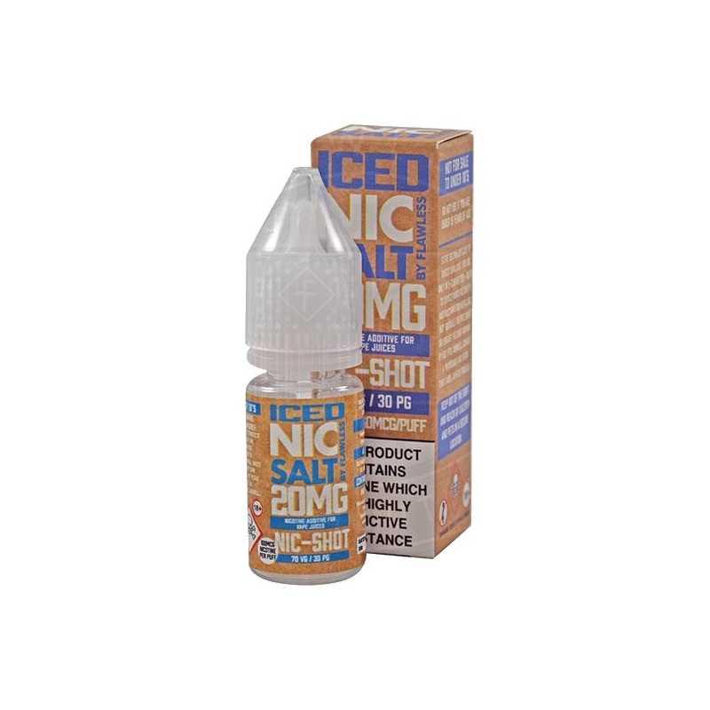 Nic Salt - ICED NIC SHOT - Booster 20mg 70/30 - Nikotinsalz -