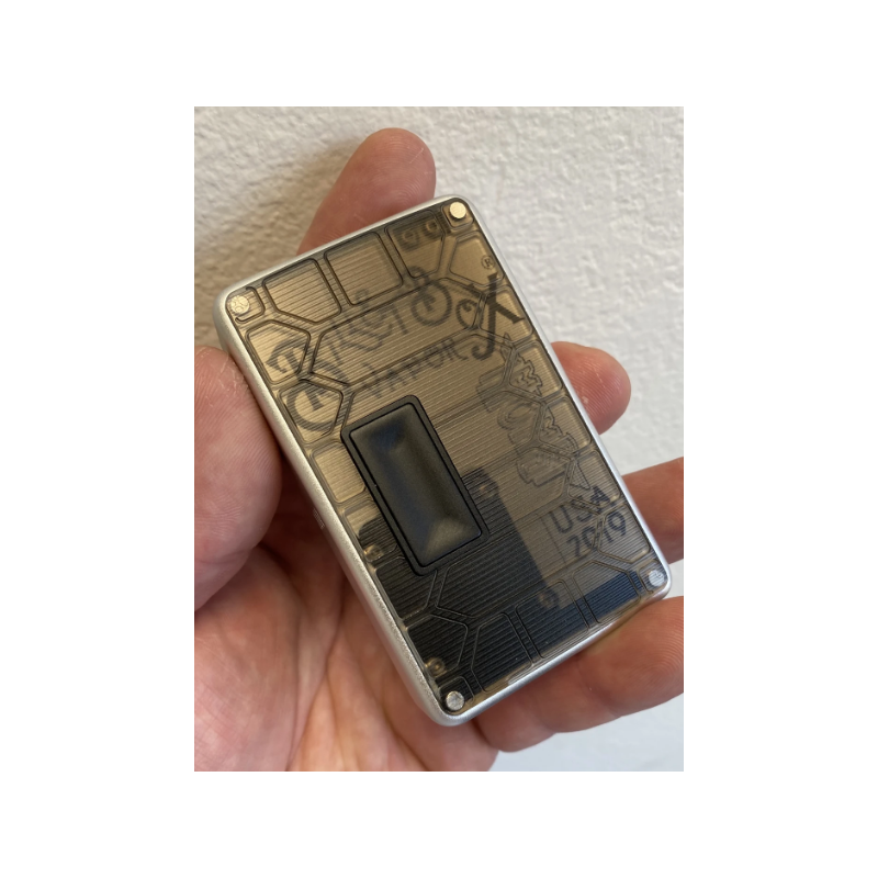 Smoked Mission Switch Curved Shell acrylic billet box rev4 doors (mod and inners not included)