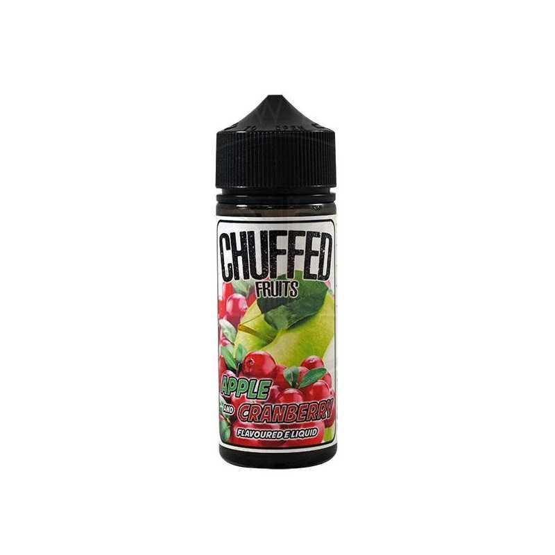 Chuffed Fruits - Apple & Cranberry 0mg 100ml Shortfill E-Liquid