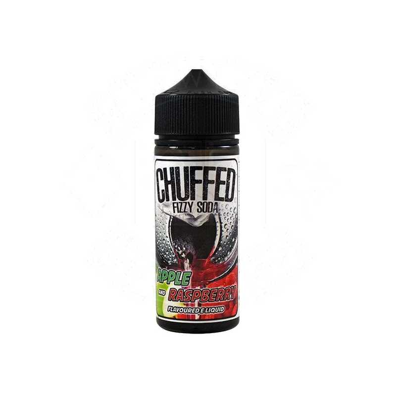 Chuffed Fizzy Soda - Apple & Raspberry 0mg 100ml Shortfill E-Liquid